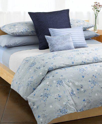 Calvin Klein Home Solid Percale Double Row Cord King Pillowcase