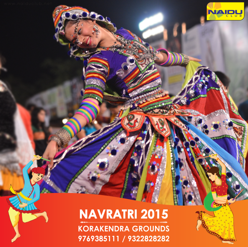 People let's gear up and get ready with your colorful and elegant traditional costumes for the India's Biggest Navratri and enjoy #Navratri till the core this year only at #KoraKendraNavratri2015