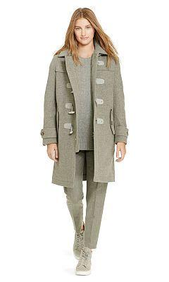 Closure Polo Ralph Coat Lauren Coats Toggle Wool xQrCshdtB