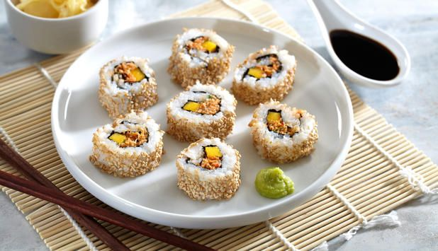 sushi krabbe