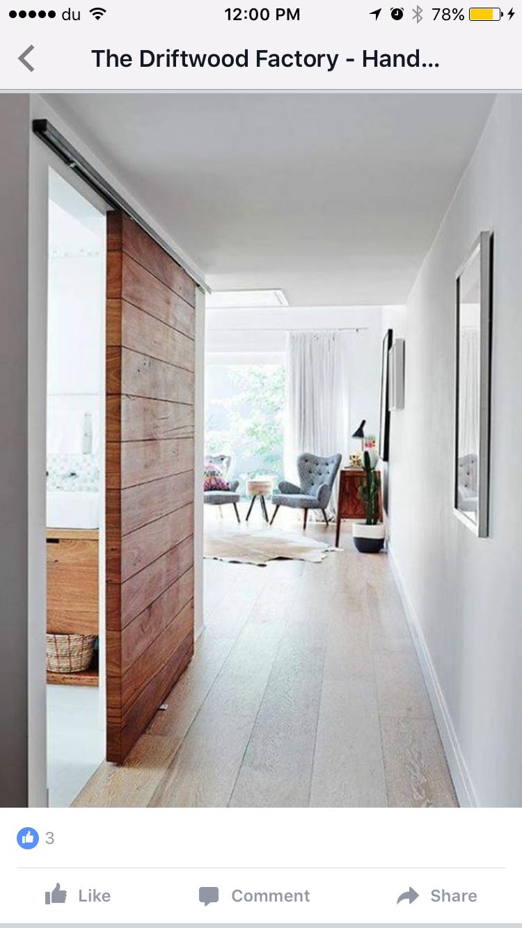 Sliding Closet Doors Design Ideas And Options: Barn Door Concept For Room Doors.