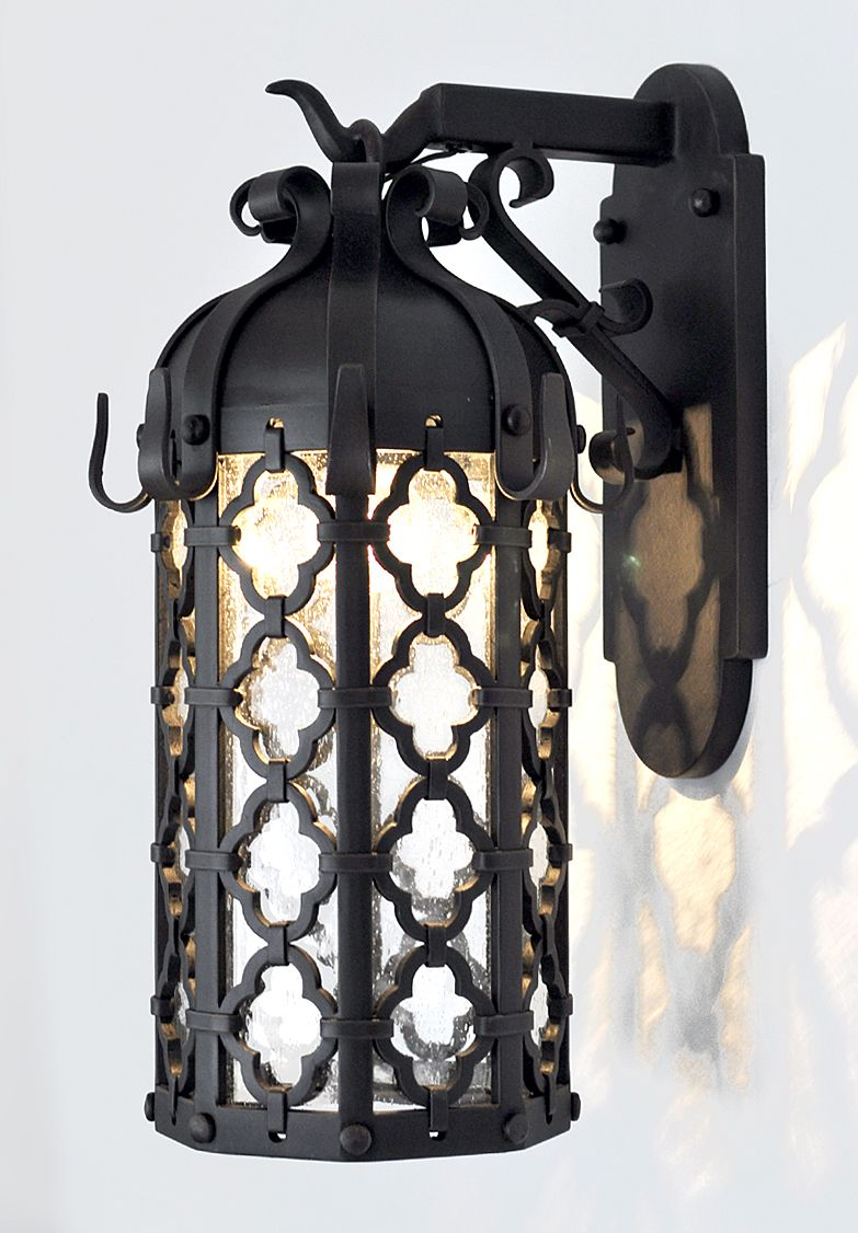 Wrought Iron Lanterns Add A Timeless Feel To The Look Of Any Home Unique Lighting Is Custom Fabricator Fixtures