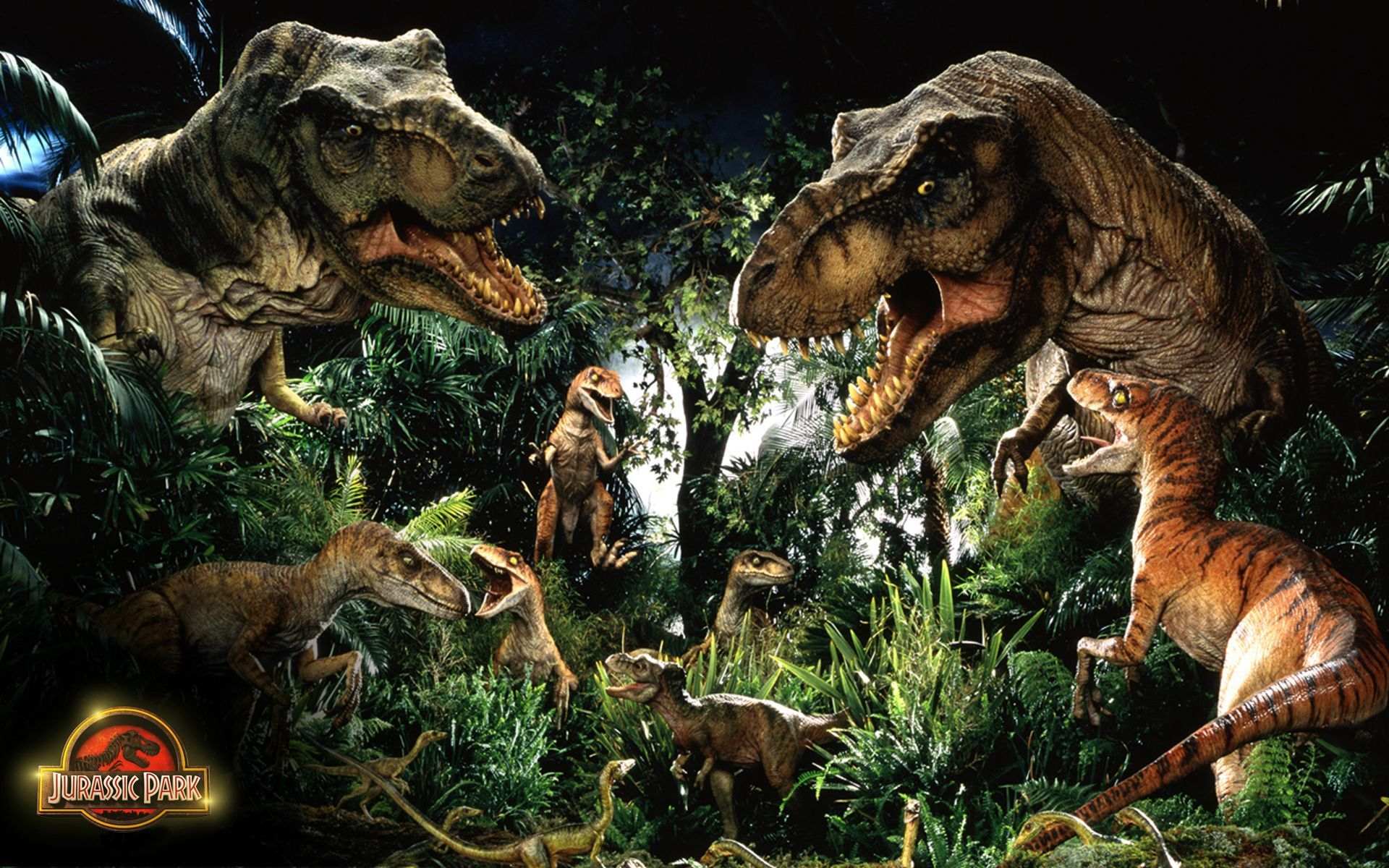 Jurassic Park T Rex Wallpaper 2