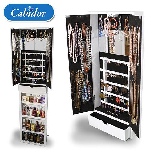 The Jewelry Cabidor Jewellery Storage Storage Hanging Jewelry Storage