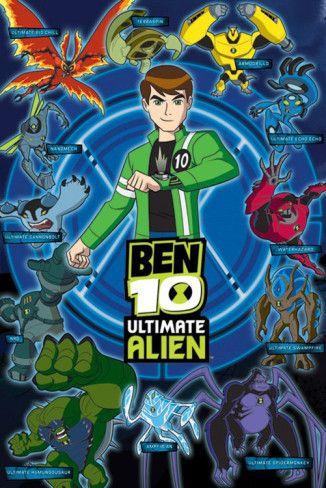 563ab1e5d814 Ben 10 Ultimate Alien (Aliens) Posters