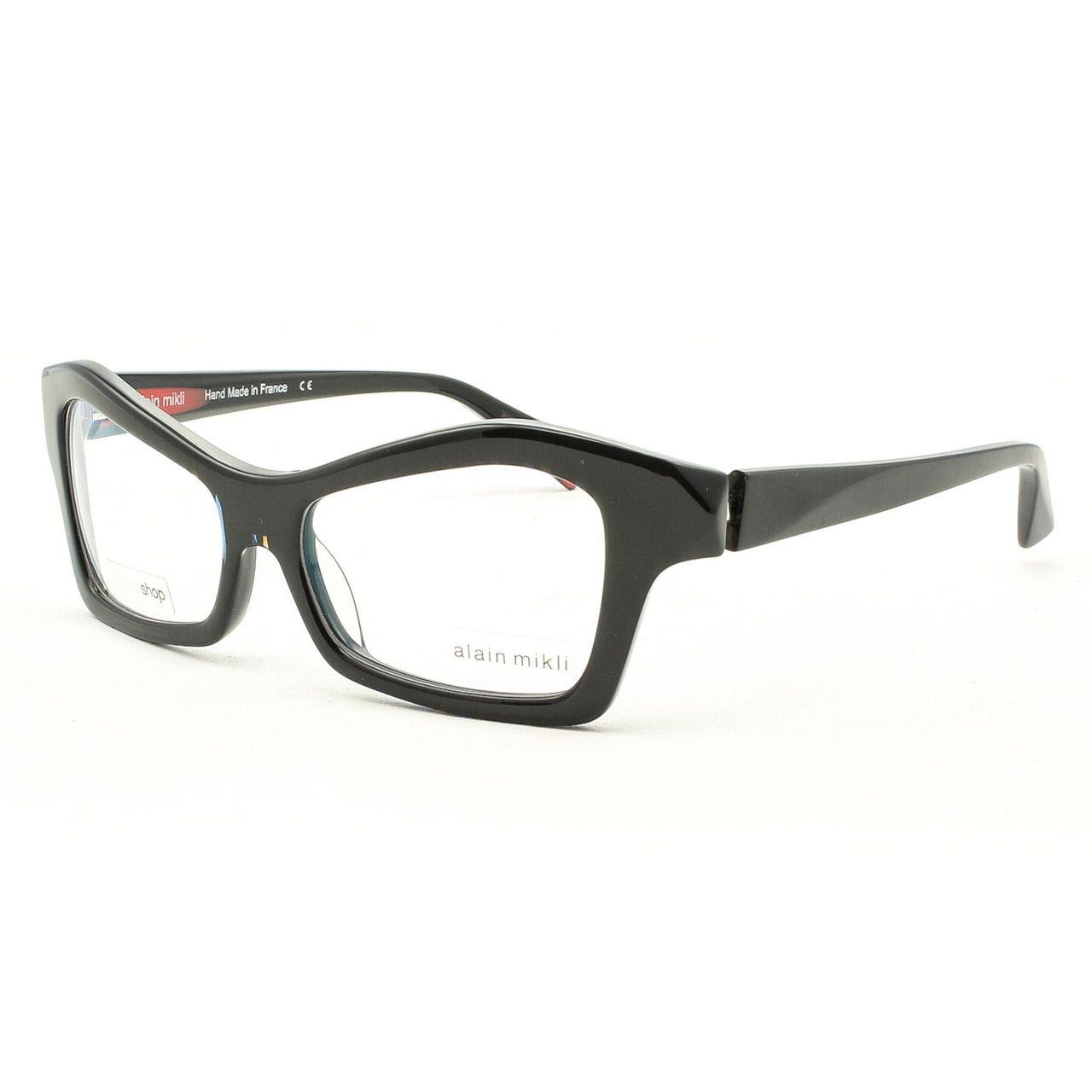 Alain Mikli Eyeglasses AL 0929 Col. B015 Black Pattern w/ Clear Demo ...