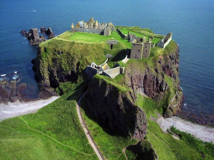Dunnottar Castle In Scotland Best Places To Visit