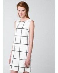 7f8b5f584 vestidos cuadros blancos y negros -