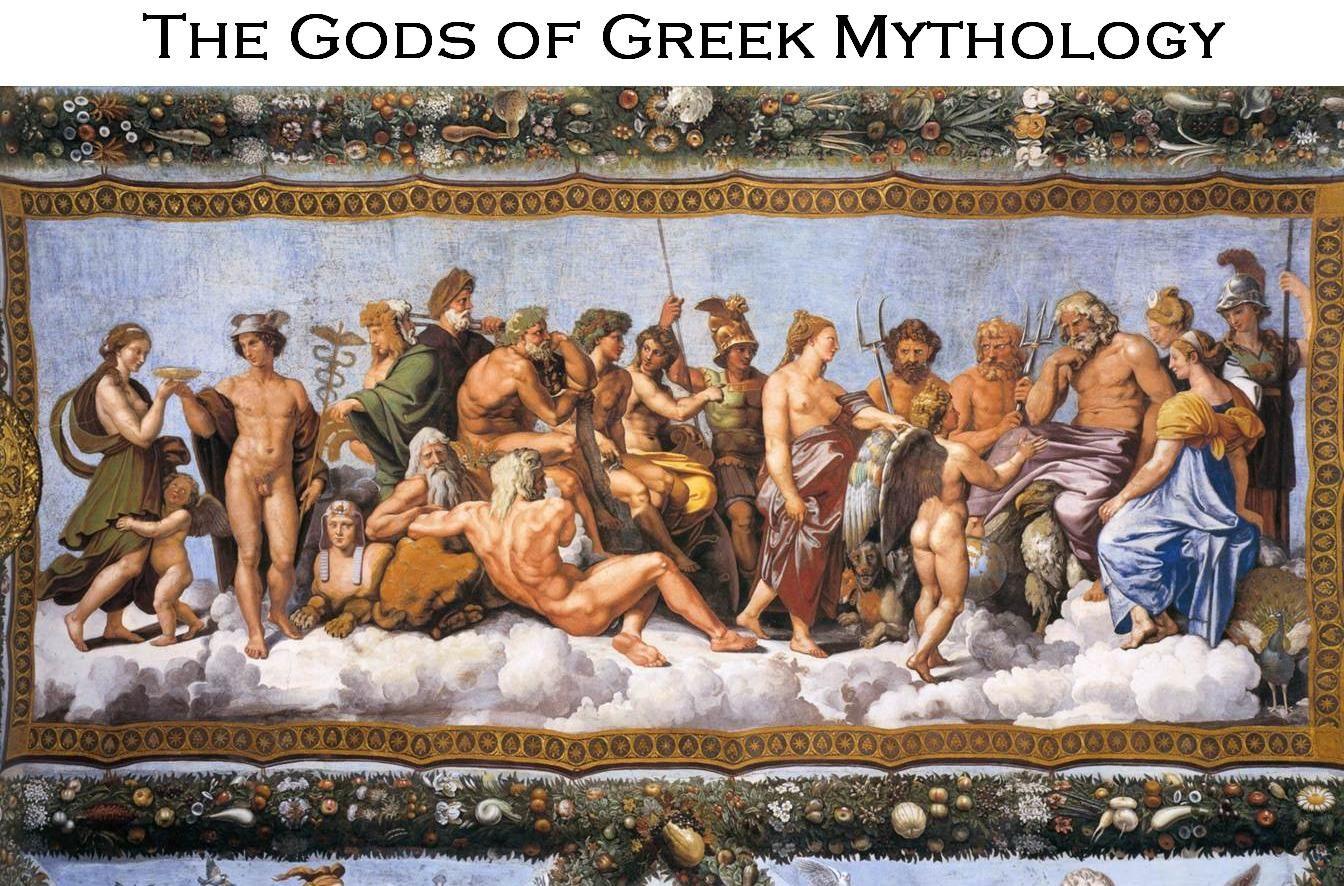 The Gods of Greek Mythology