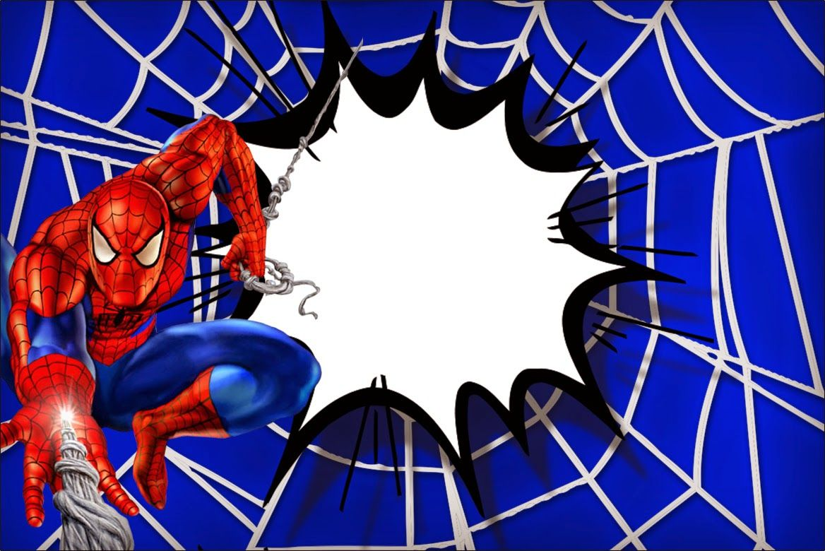 Oh My Fiesta In English Spiderman Free Printable Invitations Spiderman Birthday Spiderman Birthday Invitations Spiderman Invitation