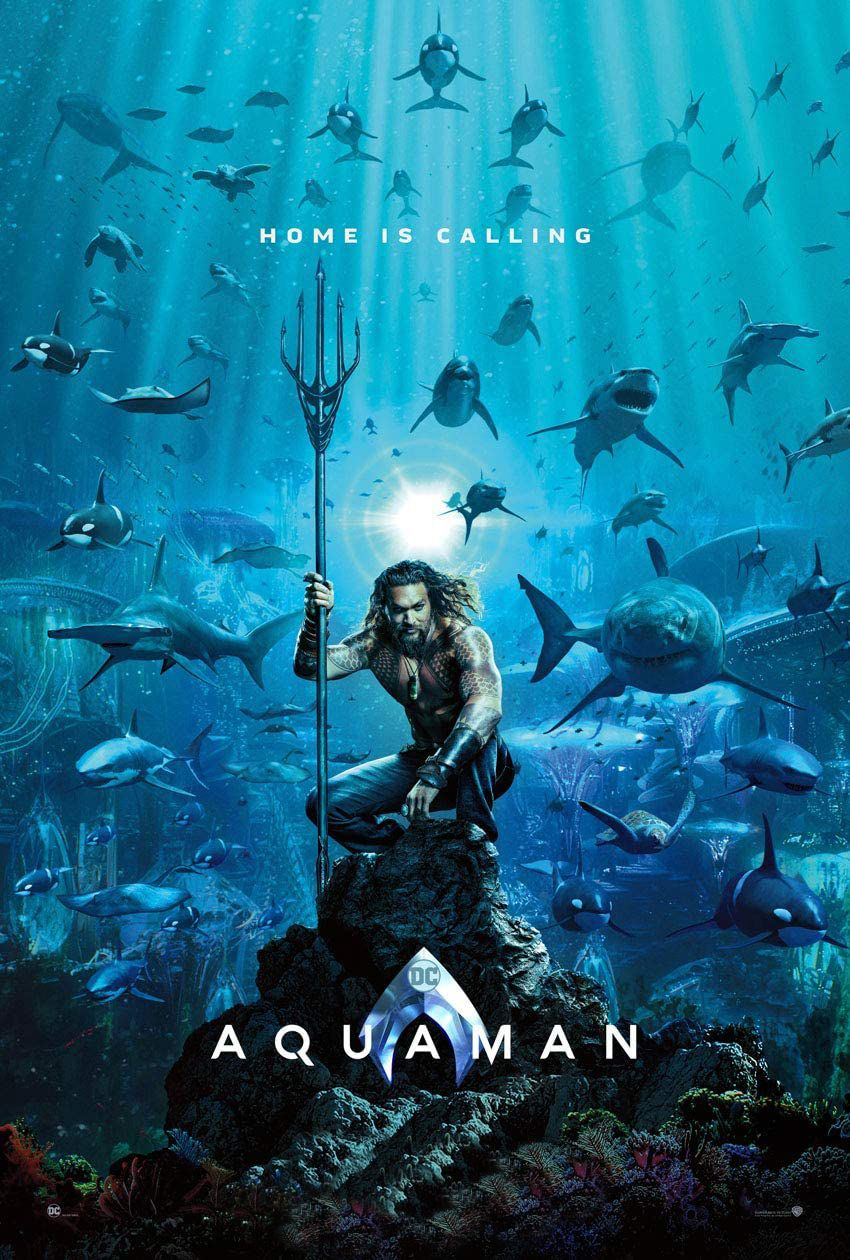 Aquaman 2018 Aquaman Film Aquaman Marvel Movie Posters