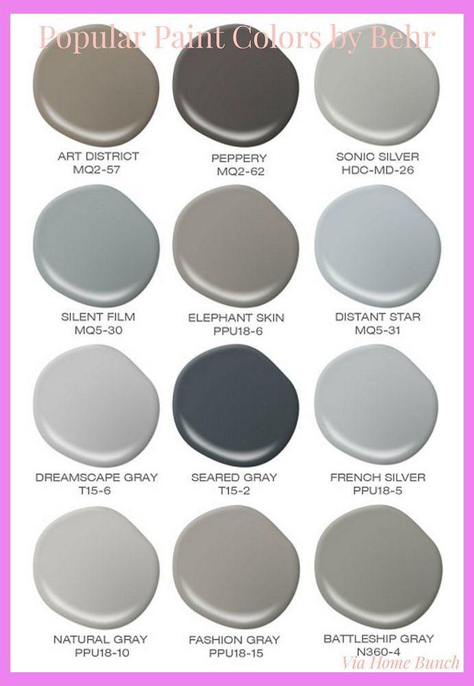 popular behr paint colors behr silent film paint color on behr premium paint colors id=26029