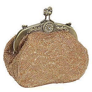 picture of evening purses | Beaded Evening Clutch Purse covered in sequins and beads on all sides ...