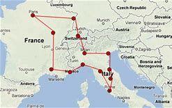 Map Of France And Switzerland France, Switzerland, Italy | European Travel in 2019 | Switzerland