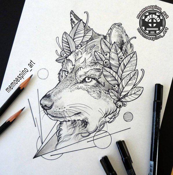 Pin di azzurra zannini su immagini pinterest tatuaggi for Lupo disegno a matita