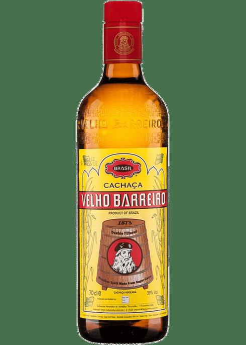 Velho Barreiro Cachaca Gold Peak Tea Bottle Cachaca Wine Bottle