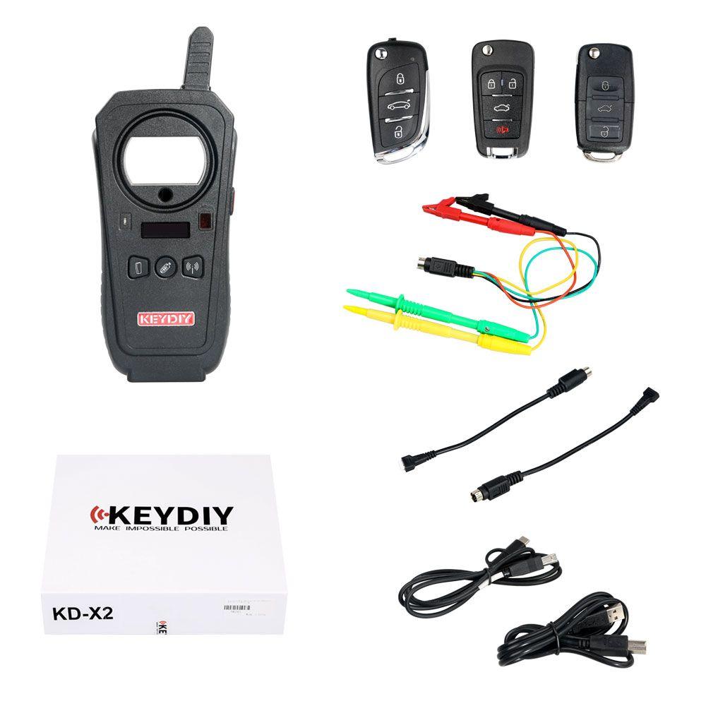 KEYDIY KDX2 Remote Unlocker Generator Transponder Car