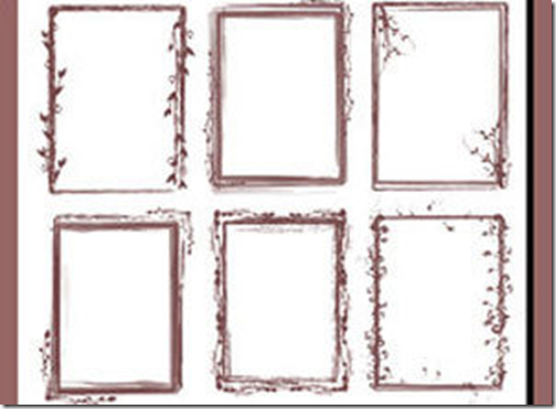 1000 Frames And Borders Photoshop Brushes Free Download ...