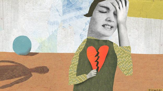 Katherine Streeter for NPR about stress and heart