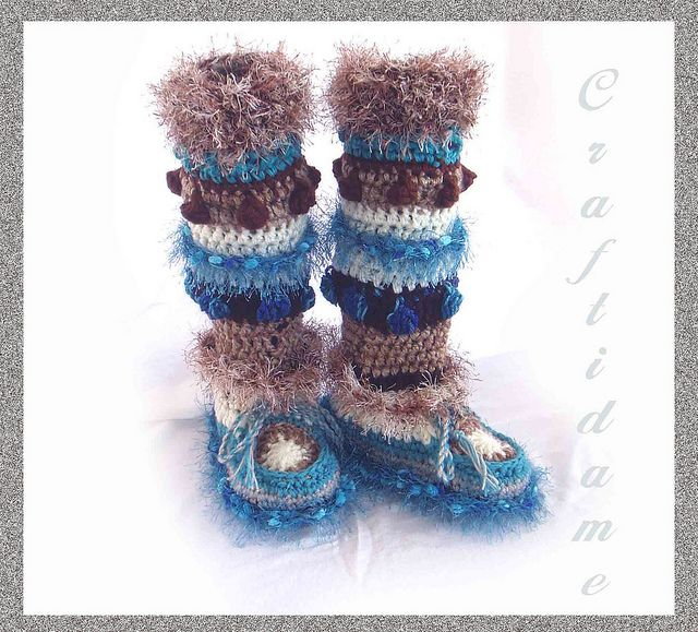 9fca1e7502a free crochet boot patterns for adults