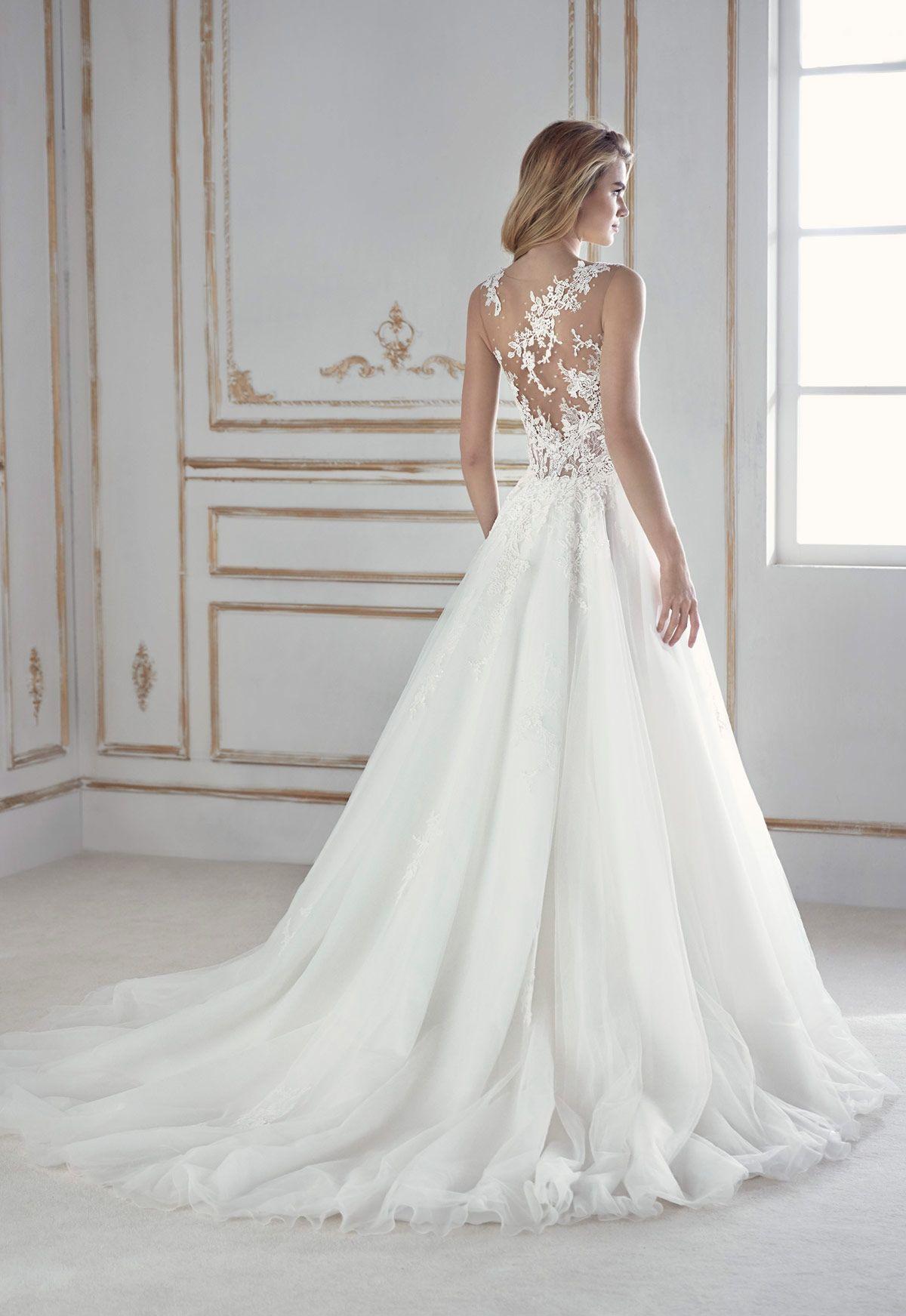 200c31e5fc Vestido de novia La Sposa modelo Perla - Eva Novias Oszałamiające Suknie  Ślubne