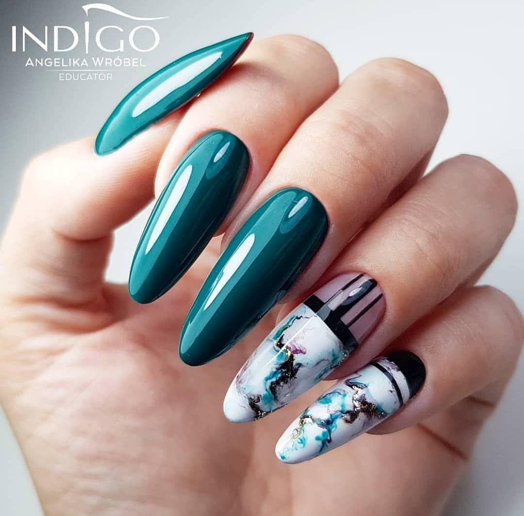 Pin By Venice Tan On Unitas Bonitas Nail Length Square Nail Designs Minimalist Nails