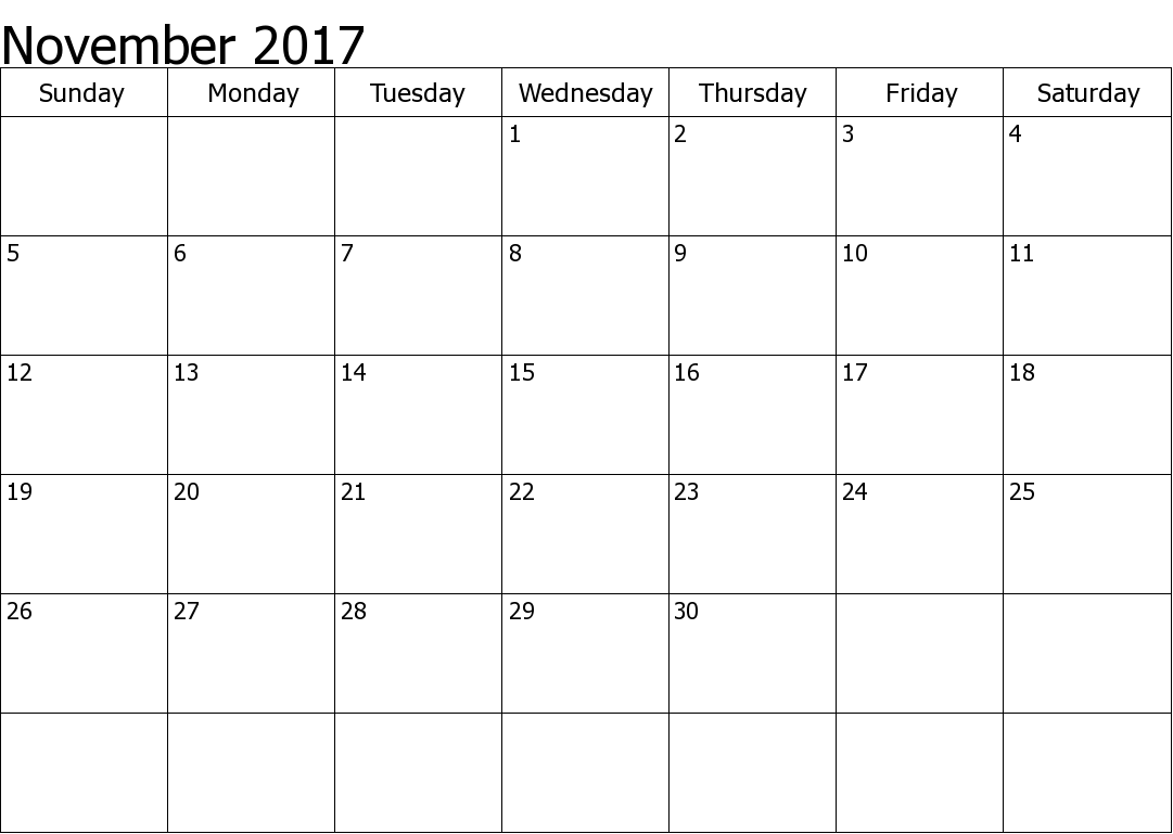 httptbgowucom805calendarnovember 2017 calendar