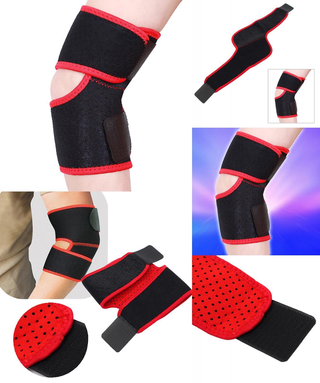 98c7de2e03 [Visit to Buy] Ajustable Elbow Knee Support Brace relief elbow pain Strong  Sports Badminton