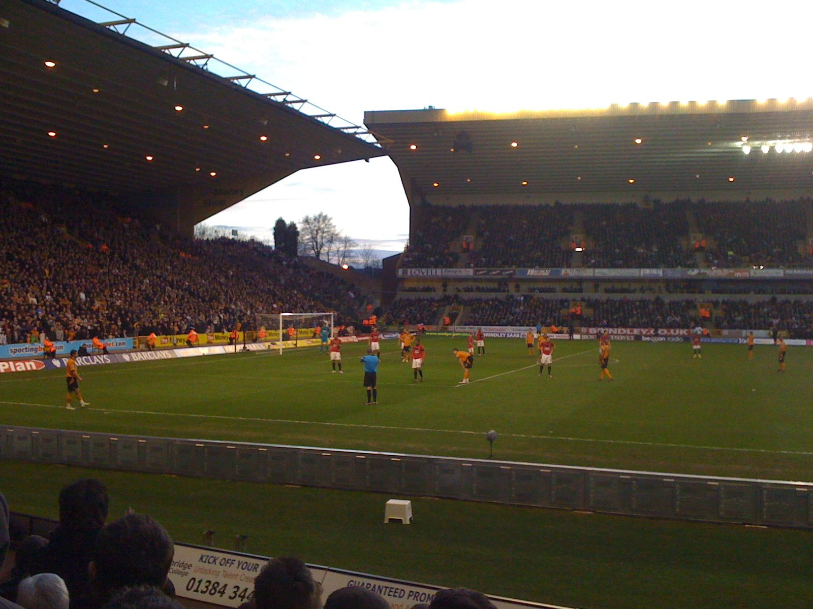Attack! Wolverhampton Wanderers FC V Manchester United FC