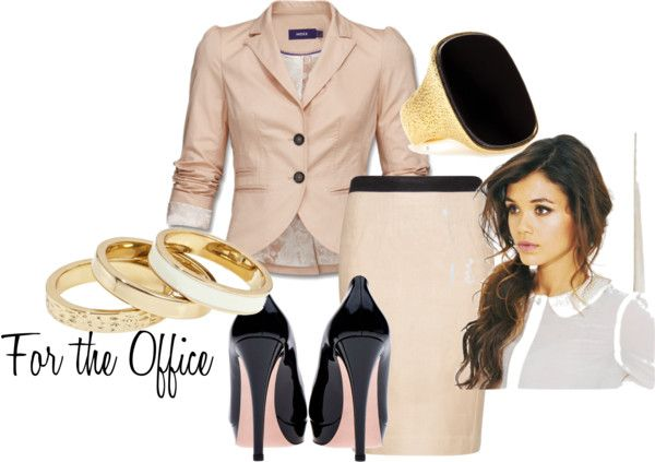 For the Office, created by heart2shop on Polyvore