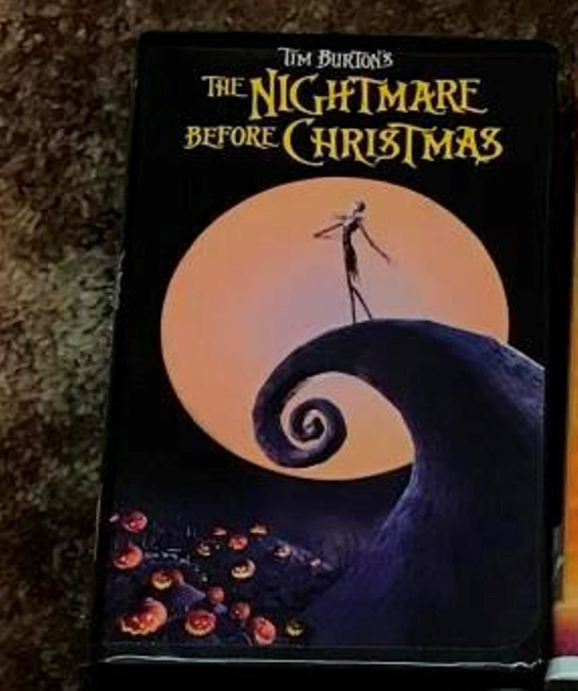 The Nightmare Before Christmas - Touchstone Home Video VHS | Ventus ...