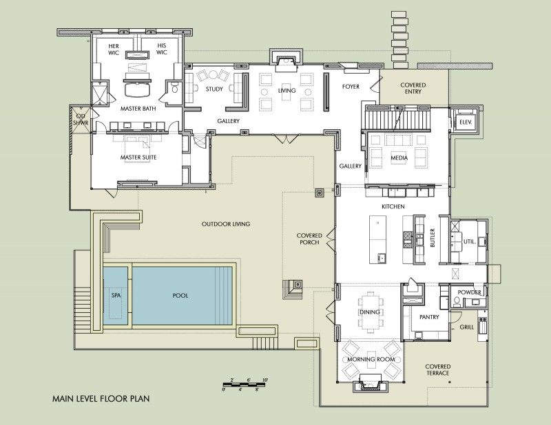 Hill Country Residence By Cornerstone Architects 73 Floorplan Home Design Huis