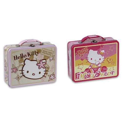 Hello Kitty Embossed Lunch Box - Case Pack 12 SKU-PAS917929 Allof theproductsshowcased throughoutare100%OriginalBrand Names. Please refer to the title for the exact description of the item. 100% SATISFACTION GUARANTEED.  #DDI #SingleDetailPageMisc