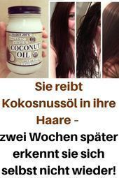 #Coconut #hair #ins #Oil #recognizes #rubs #recognizes #Hair #ins # Coconut oil #rushes #yourself