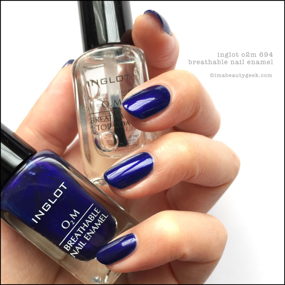 INGLOT O2M BREATHABLE NAIL ENAMEL SWATCHES & REVIEW | Swatch