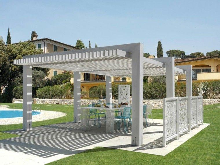 pergola blanca para jardin | pergola style | pinterest | jardín