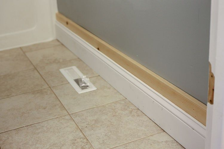 Board and Batten Bathroom DIY images