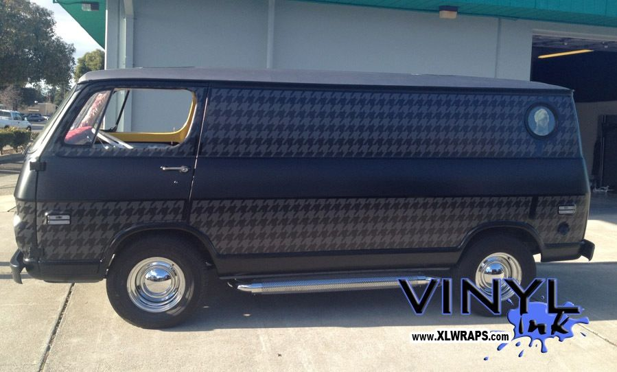 Mike D And Billie J Customized A 1967 Chevy Van For Tre
