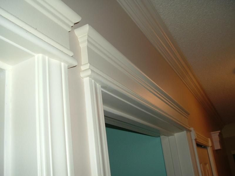 interior window and door trim copyright rjb creative