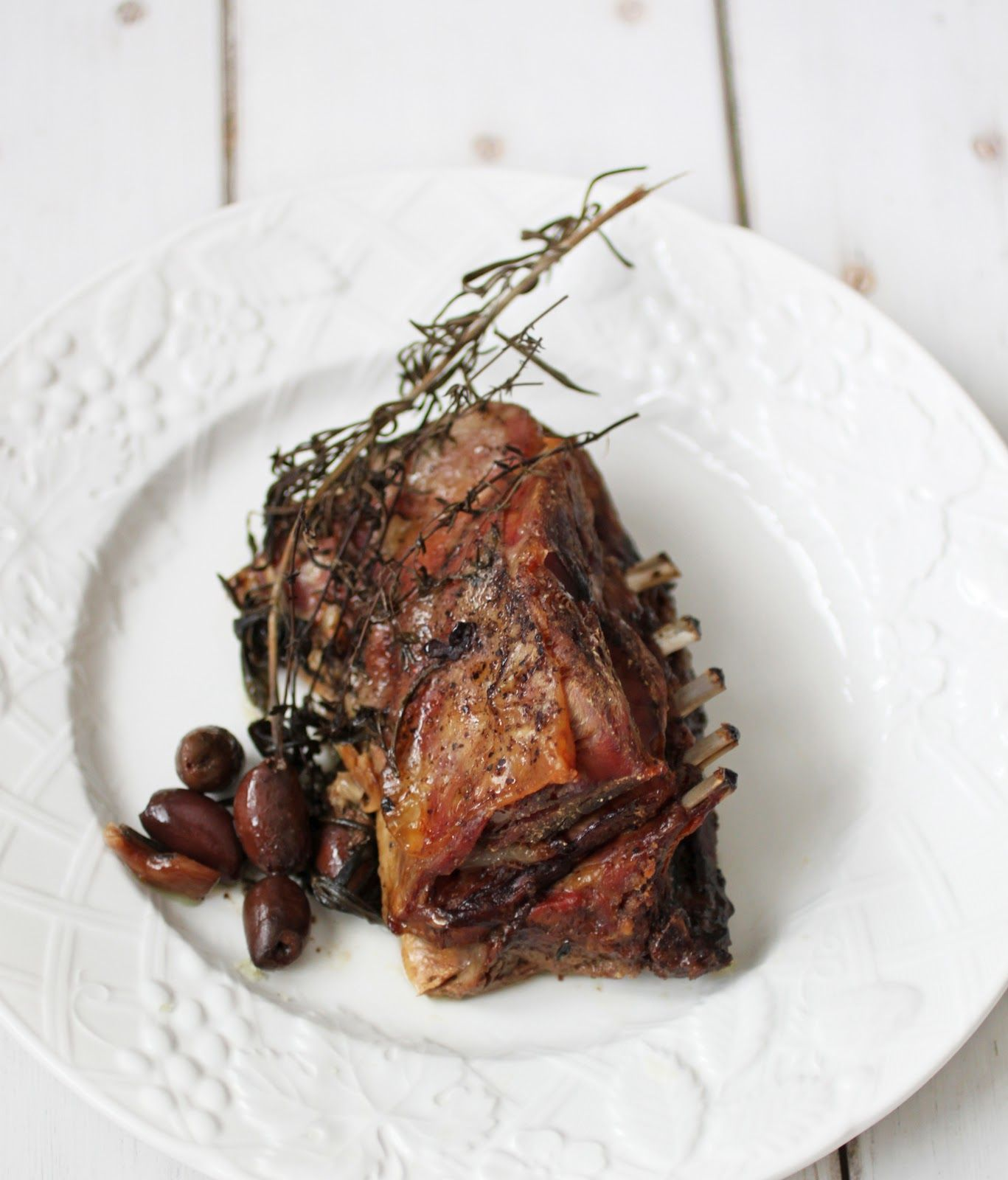 Slow Cooked Lamb Roast