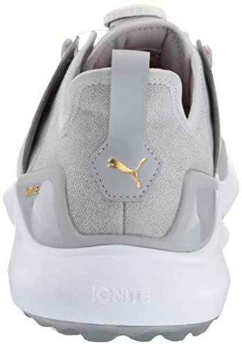 Puma Golf Men S Ignite Nxt Disc Golf Shoe High Rise Team Gold Puma White Disc Golf Shoes Golf Shoes Disc Golf