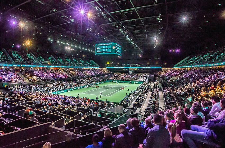The Ahoy Rotterdam is a convention center, muchpublicized