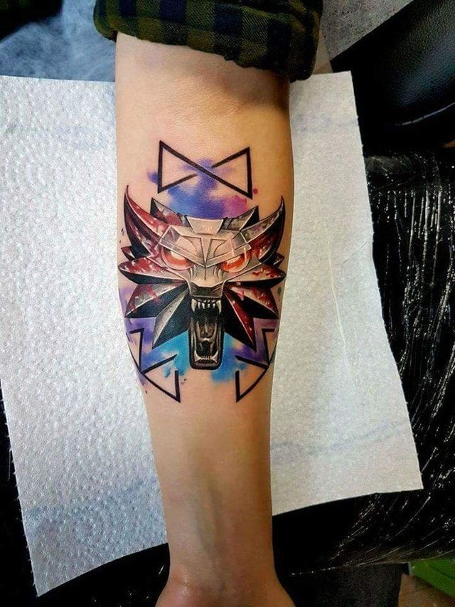 Witcher 3 Tattoo: Do You Have A Witcher Tattoo?. : Witcher