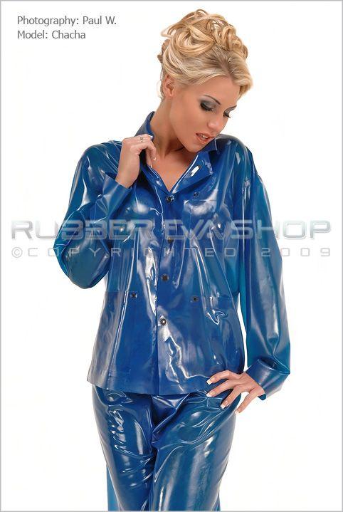 Rubber Pyjamas Pyjamas, Pvc Raincoat, Latex Costumes, Nightwear, Latex  Dress, Fetish 11357edcb4