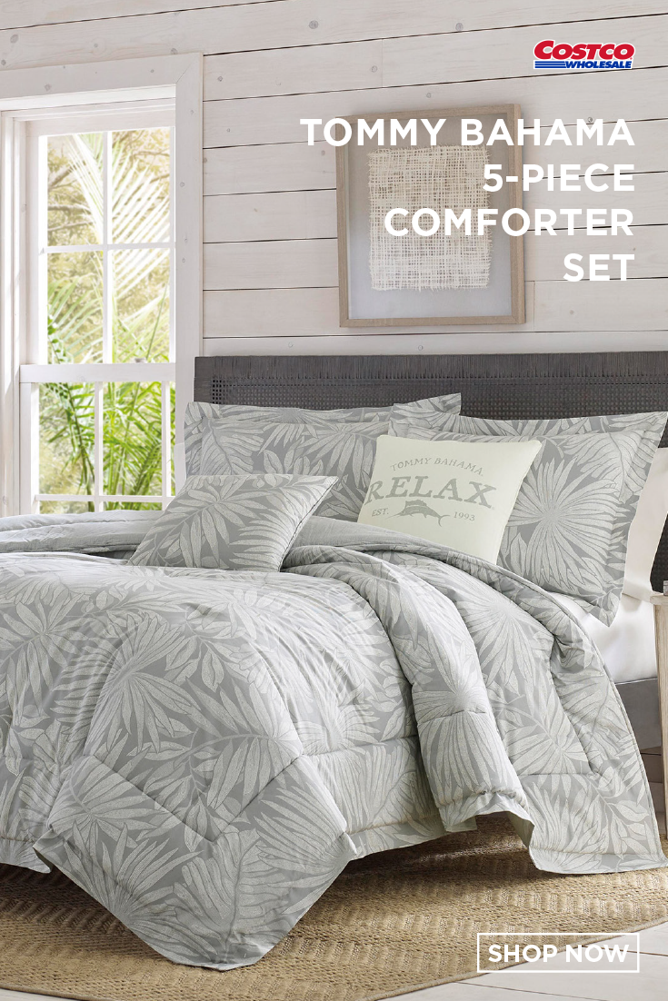 Tommy Bahama Bedding Sets.Tommy Bahama 5 Piece Comforter Set Floreanna In 2019