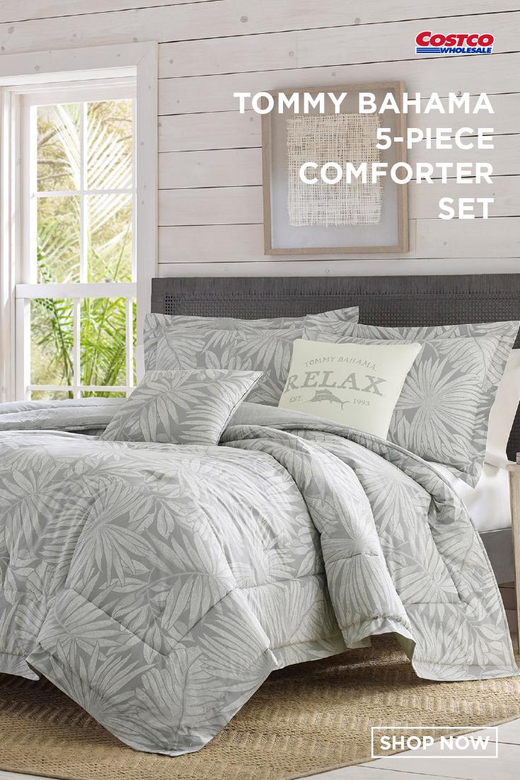 Tommy Bahama 5 Piece Comforter Set Floreanna Comforter Sets