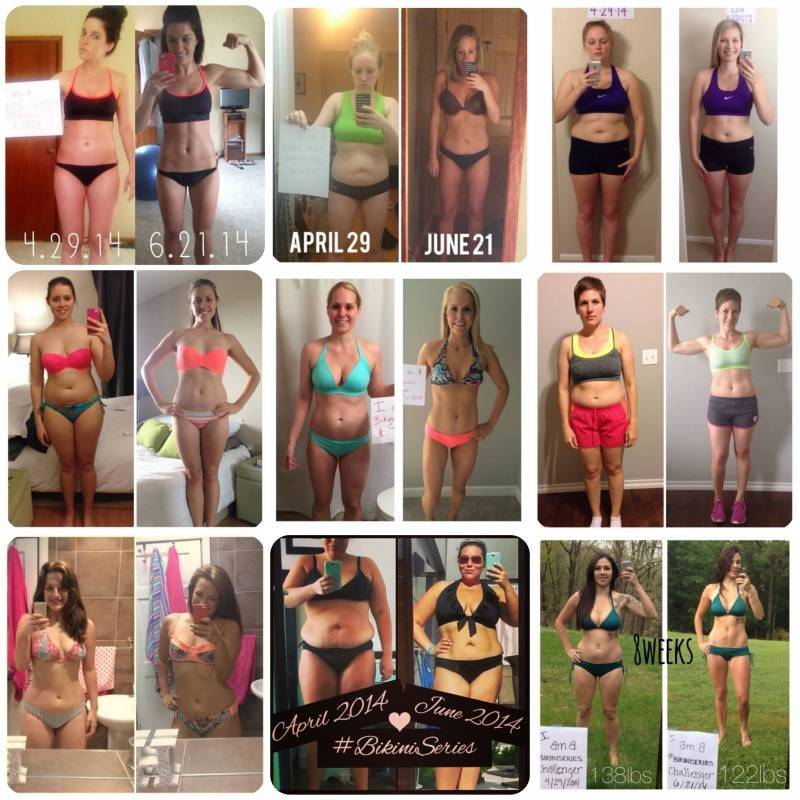 Tone It Up Transformations!