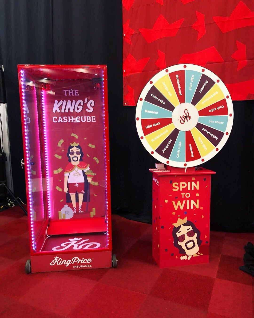 Spin And Win Or Enter The Cash Cube And Walk Away With As Much