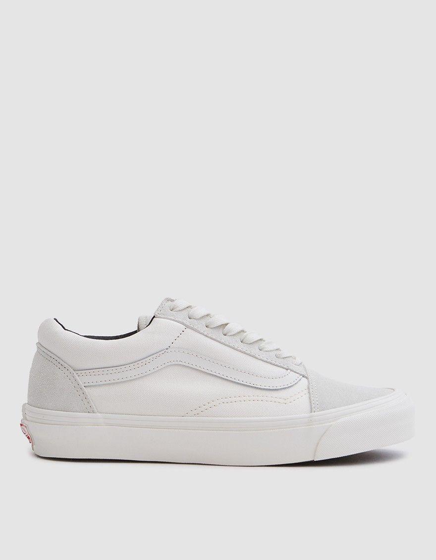 Vans OG Old Skool LX in Blanc de Blanc | Vans, Shoes, Sneakers