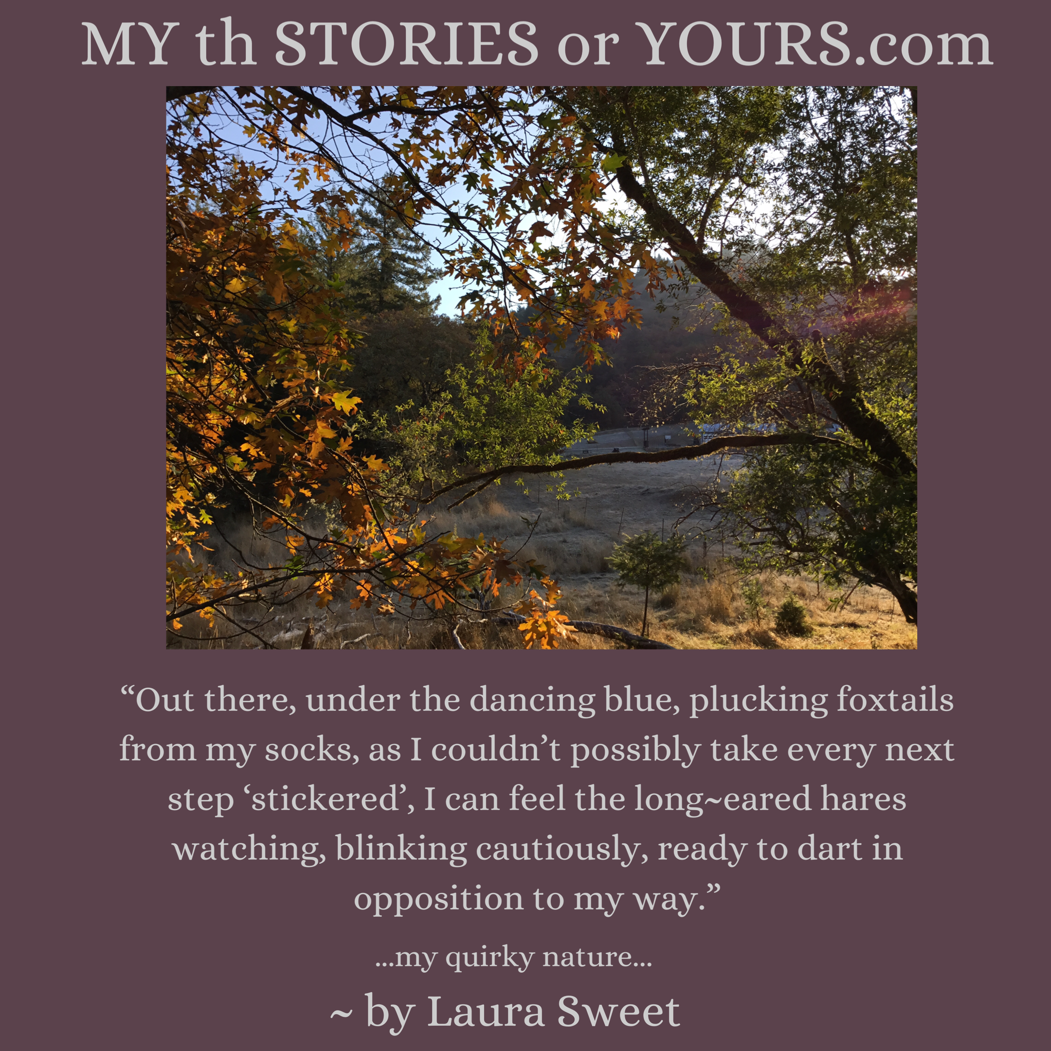 """...my quirky nature..."" ~ by Laura Sweet #cuppatea"